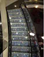 MSC Divina crystal staircase